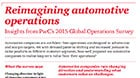Reimagining automotive operations: Insights from PwC's 2015 Global Operations Survey